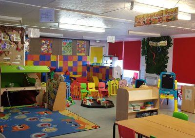 Our classroom area