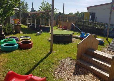 Our garden area